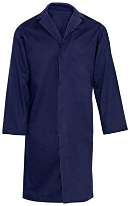 Picture of Westex UltraSoft® Concealed Snap Pocketless Lab Coat