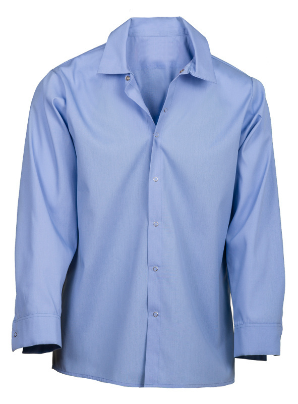 Picture of Pocketless Work Shirt (Long Sleeve-No Buttons)