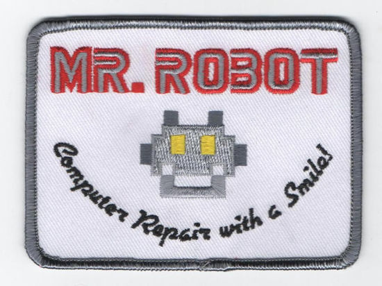Picture of Mr. Robot Patch (unattached)-FREE SHIPPING