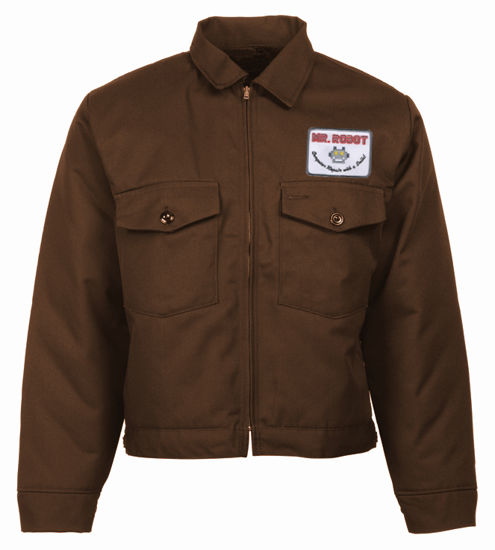 Picture of Eisenhower Patch Pocket  Jacket-WITH PATCH-Black Lining (as seen on Mr. Robot)