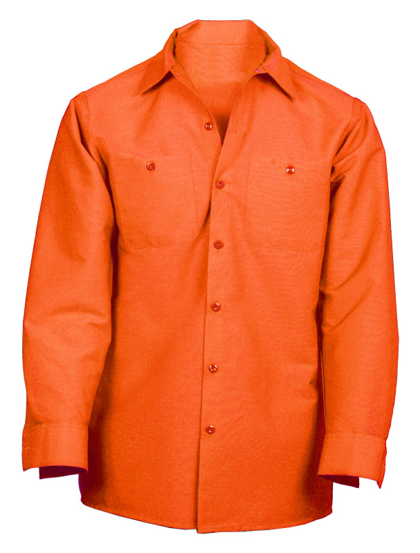 Picture of Cotton (Wrinkle-Resistant) Work Shirt- Long Sleeve