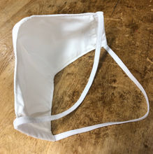 Picture of Face Mask-MICROBIAL (double elastic around the head)-Unisex Sizing-with Filter Pocket