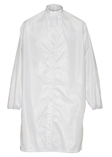 Picture of Clean Room Exposed Gripper Front Frock - 1st quality